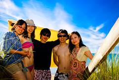 DSC02957 (Forest Wang) Tags: sun ontario canada beach boat kayak 28mm july 200iso f56 lakehuron 2010 grandbend 604pm 11000secatf56 sonydslra230 july0210 pineryprovincalpark