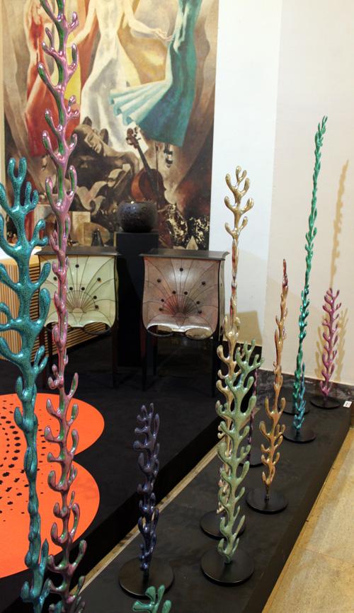 Algues Molusk exposées au Palais de Chaillot lors de l'exposition Imaginez Maintenant