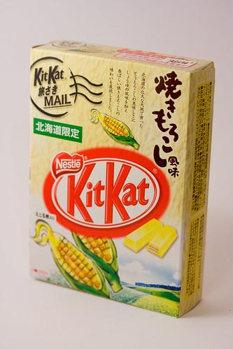 Corn Flavoured KitKat