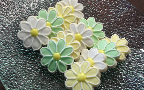 Bridal Shower Daisy Cookies