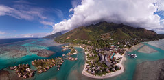 InterContinental Moorea Resort & Spa (Pierre Lesage) Tags: island hotel lagoon fromabove resort southpacific tropical reef intercontinental moorea frenchpolynesia fled gopro pierrelesage ricohgx200 kapstock intercontinentalmoorearesoirtspa