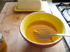 Homemade butter --> Ghee