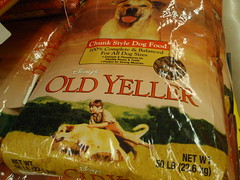 old yeller dogfood