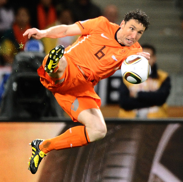 Holland Uruguay World Cup Mark van Bommel