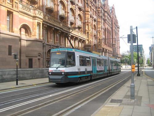 Calles de Manchester Foto