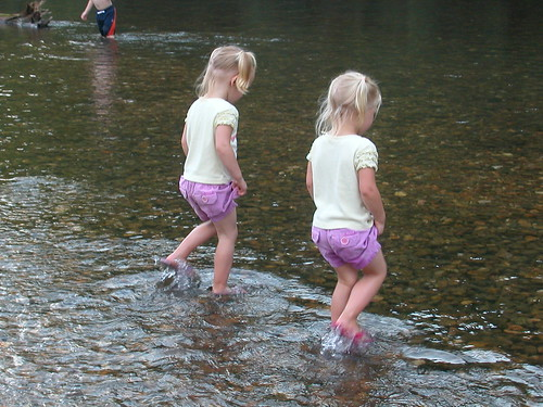 July 5 2010 Roubidoux River Shanna and Haley