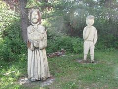 StAgathaJune2010 (17) (CoreyDina) Tags: vacation sculpture reunion june island cottage maine letterboxing acadian madawaska 2010 longlake pelletier gagnon stagathe pelletierisland