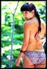Looking back... (kingpinphoto) Tags: portrait topless jess rockcreekpark cutebum joeldidriksen cuteundies kingpinphotocom natureshoot