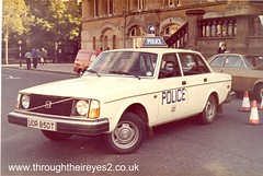 VOLVO POLICE CAR (through their eyes) Tags: police polizei policia polizia politie policecars volvopolicecar policecarsfromthe1970s