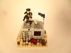 """Nuclear Bunker"" (The Wild Eskimo) Tags: lego bunker dynamite fallout apoc"