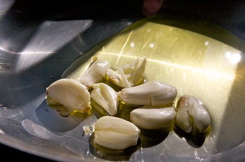 garlic, prepare to be browned!