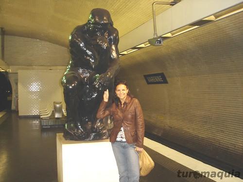 Estação de Metrô Paris