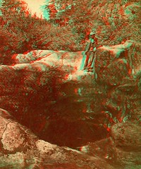 Man and Pothole, Dalles of the St. Croix early 1880's anaglyph 3D (depthandtime) Tags: old man minnesota wisconsin vintage river found stereoscopic stereophotography 3d view antique anaglyph photographic stereo card views stereoview stcroix bluffs stereograph foundphoto dells pothole dalles taylorsfalls stereoscope anaglyphic stereographic 1880s stcroixfalls redcyan naturalwell stereoscopeview scsargent
