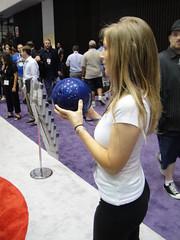 E3 2010 CTA Wii bowling ball
