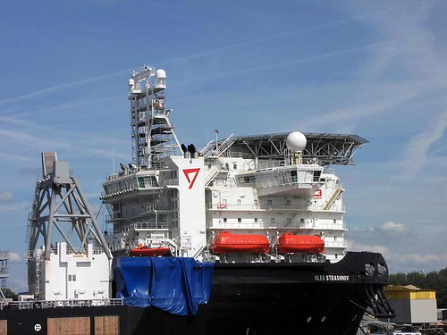 IHC Merwede has launched the heavy-lift vessel Oleg Strashnov for Seaway