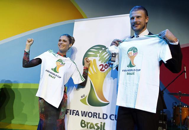 camiseta Oficial del Mundial Brasil 2014