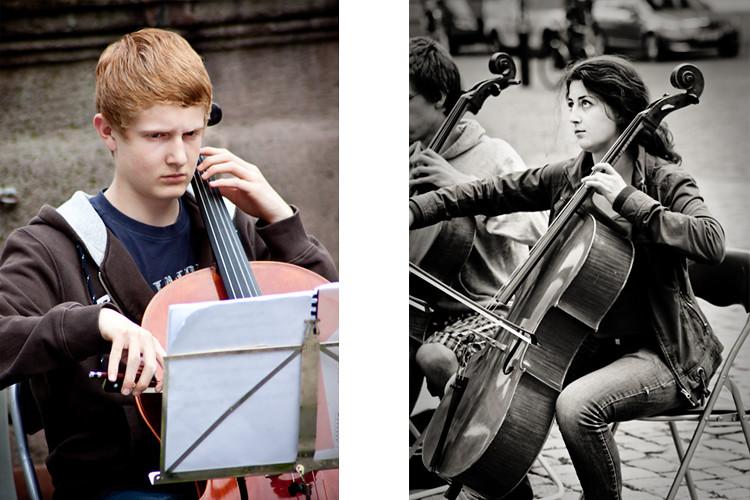 Celloists 1