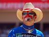 rodeo clown flint rasmussen (ktelqueen) Tags: portrait man reflection calgary face sunglasses person dof clown olympus alberta cowboyhat calgarystampede rodeoclown zd 300mm28 ktelqueen e520 flintrasmussen