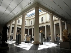 Greek and Roman Galleries (Trish Mayo) Tags: light newyork architecture temple columns wideangle metropolitanmuseumofart metmuseum noncoloursincolour greekandromangalleries thebestofday gnneniyisi