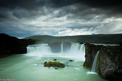 Waterfall of the gods - Goafoss (Hrnn Thorarensen (NinnaK)) Tags: summer nature water river island waterfall iceland north foss icelandic glacial goafoss skjlfandi norurland