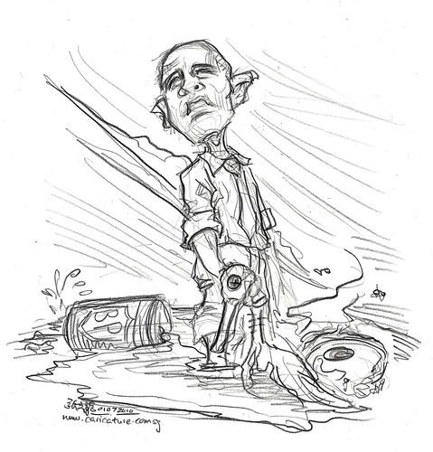 Obama and BP