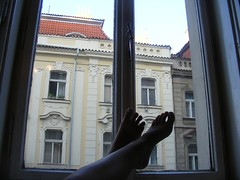 Relaxin in the evening... (Ms Kat) Tags: selfportrait feet me window michelle 365days mrowrr 193365
