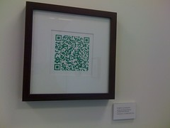 (theres no way home) Tags: art minnesota gallery minneapolis qrcode robotlove robertschneider nonpythagoreancomposition6