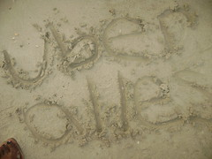 My tumblr name (Not Manet's Type) Tags: sand jamaica montegobay uberalles tumblr
