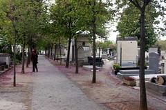 Auf dem Friedhof Montparnasse in Paris