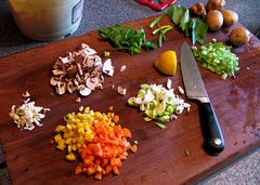 Mise en Place (prima seadiva) Tags: dinner soup vegetable g9