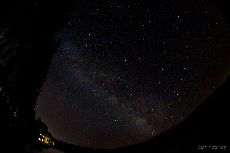 donner lake milky way 2