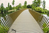 Kew Walk Bridge (Muzammil (Moz)) Tags: uk kewgardens london beautiful richmond fisheye moz royalbotanicalgardens