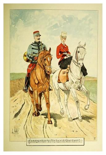 031-En ruta por el camino-Le chic à cheval histoire pittoresque de l'équitation 1891- Louis Vallet