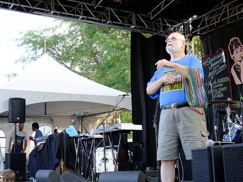 Steve Lund at Ottawa Bluesfest 2010