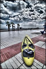 nubes (joxe@n) Tags: travel las wedding party espaa color del de la mar spain agua y tokina1224 playa palmeras alicante paseo cielo hdr famili santapola nikond40x aybalaostia joxen