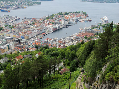 Overlooking the City - Bergen, Norway