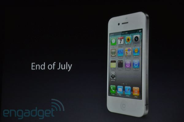 White iPhone 4 Should Be Available During Launch