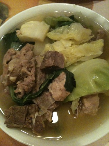Pork Nilaga (Pork Rib Soup) by sjm1102.