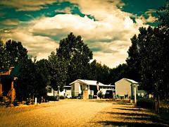 Munds Park AZ (madtres3) Tags: park arizona clouds cross az flagstaff trailer process ge x5 lr3 cs4 munds
