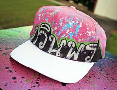 Hand Customized Hat - กวินพร