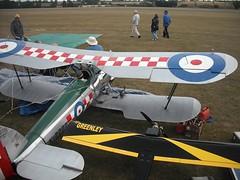 Half scale biplane