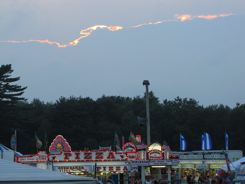 westport fair sunset