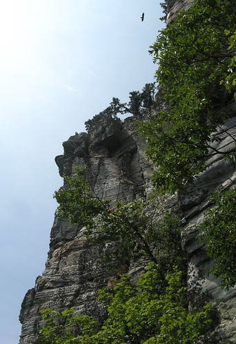 Pinnacle cliffs