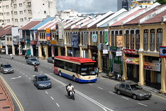 PUBLIC TRANSPORT IN PENANG (Claude  BARUTEL) Tags: bus public island transport malaysia penang