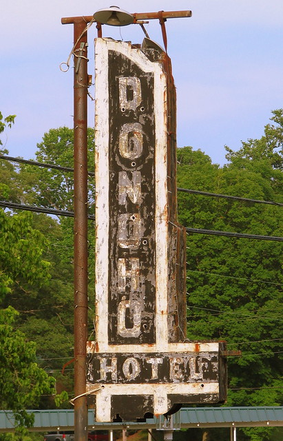 Donoho Hotel Neon Sign