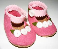 041 (Shes_So_Crafty) Tags: infant felt newborn babybooties shessocrafty