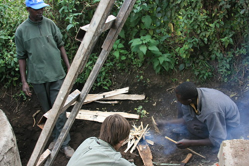 Using Fire to Heat Pipes and Machette to Melt Holes in the Cisterns