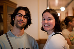 Lisa and Elliot at Lick Observatory (~dgies) Tags: smile canon eos all sanjose elliot lickobservatory lightroom 500d sigma30mmf14exdchsm t1i yvfn