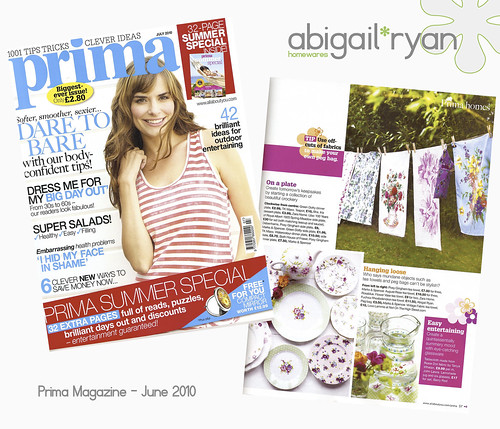 abigail*ryan in Prima Magazine...