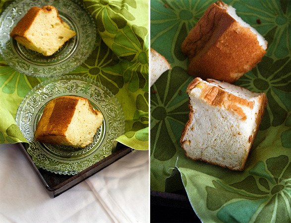 Cottony-soft chiffon cake